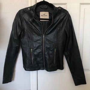 Hollister Black Motor Jacket